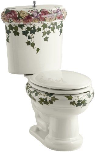 Review The Kohler Peonies And Ivy Revival Toilet Rate