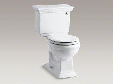 Kohler Toilets Reviews : Review: The Kohler Memoirs Two Piece Toilet - Rate My Toilet