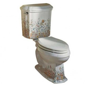 Review kohler english trellis portrait toilet for Thetford bathroom anywhere reviews